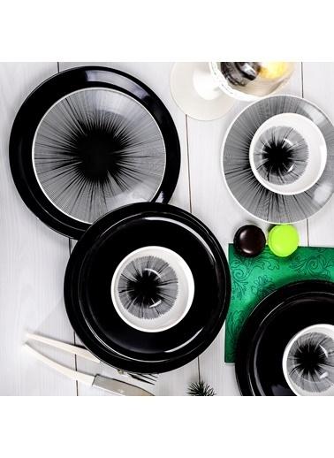 Keramika Keramika Bing Bang Yemek Takımı 24 Parça 6 Kişilik Renkli